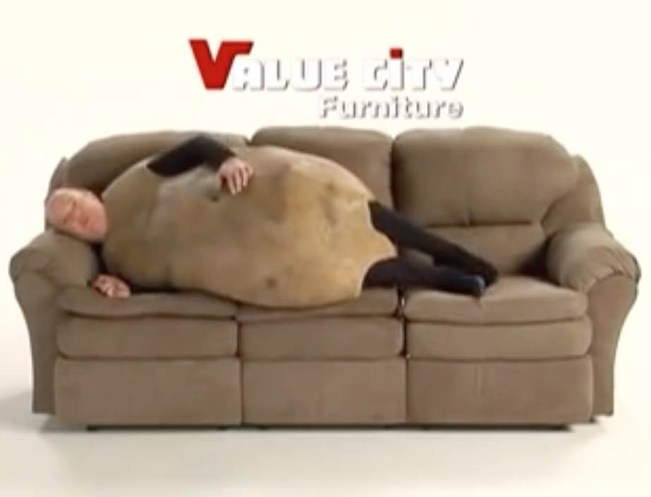 The Sofa Potato